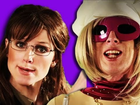Sarah Palin VS Lady Gaga - Epic Rap Battles of History 4