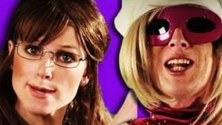 Repeat youtube video Sarah Palin VS Lady Gaga - Epic Rap Battles of History 4