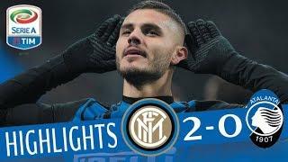 Inter - Atalanta 2-0 - Highlights - Giornata 13 - Serie A TIM 2017/18