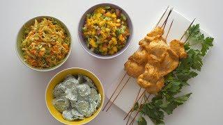 Три лучших салата к шашлыку. Три вкусных заправки без майонеза