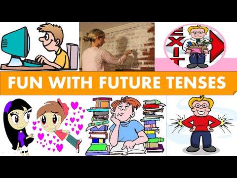 English Lesson/Grammar/Future Tenses