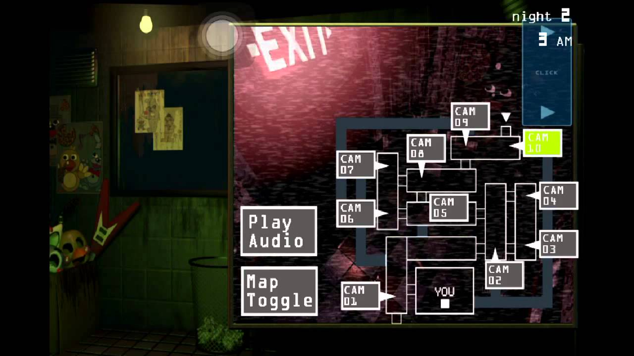FNAF 3 iOS Gameplay! Night 2! IT'S OUT! - YouTube