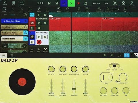 DAW LP AUv3 by Klevgrand - Pre Release Demo for the iOS Version