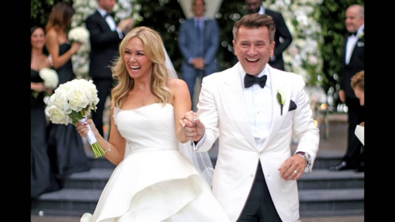 Kym Johnson Dancing With The Stars Married: Robert Herjavec And Kym Johnson Married