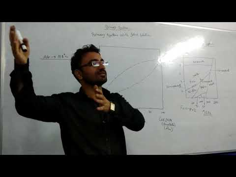 Rasikh Barkat, Lecture, Igneous Petrology, Albite-Anorthite Binary System with Solid Solution.