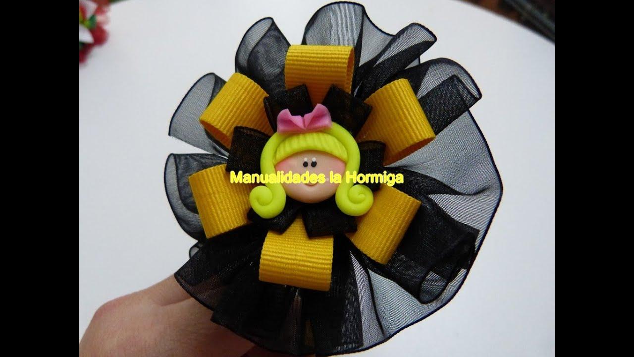 Como hacer lazos de cinta para decorar diademas how to - Lazos con cintas ...