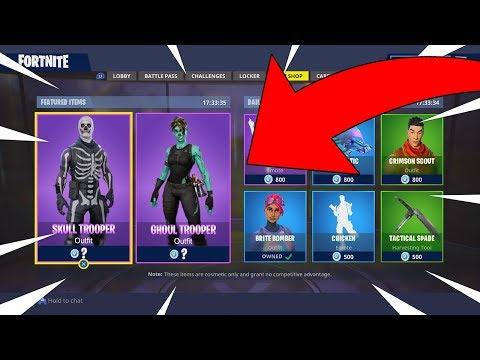 Fortnite Skull Trooper And Ghoul Trooper Coming Soon Fortnite