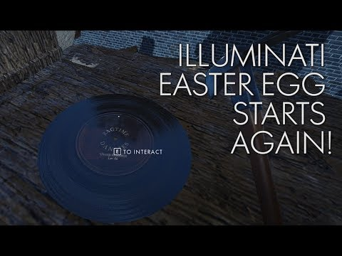 Master man Easter egg starts again, and Battlefield theme