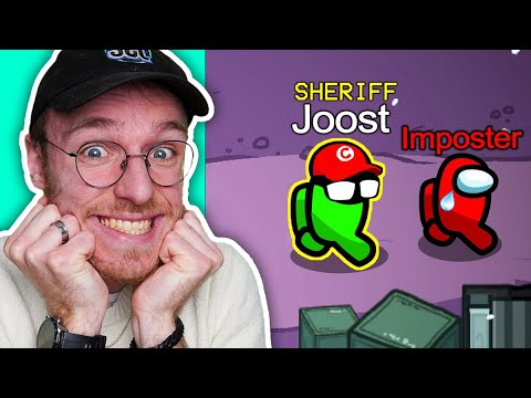 IK KILL DE IMPOSTER ALS SHERRIF in MODDED Among Us!