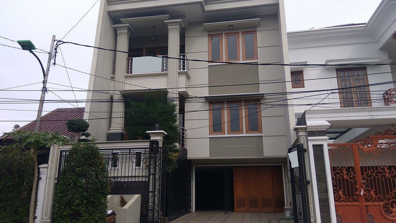 Rumah Mewah 3 Lantai Duren Sawit Rumah Minimalis Dijual Youtube
