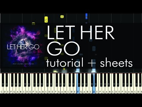 Passenger - Let Her Go - Piano Tutorial - How to Play + Sheets