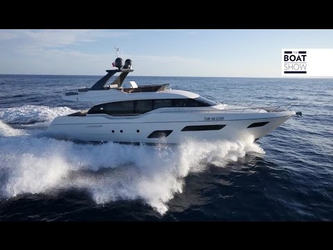 [ENG] FERRETTI 700 - 4K Review & Interiors - The Boat Show