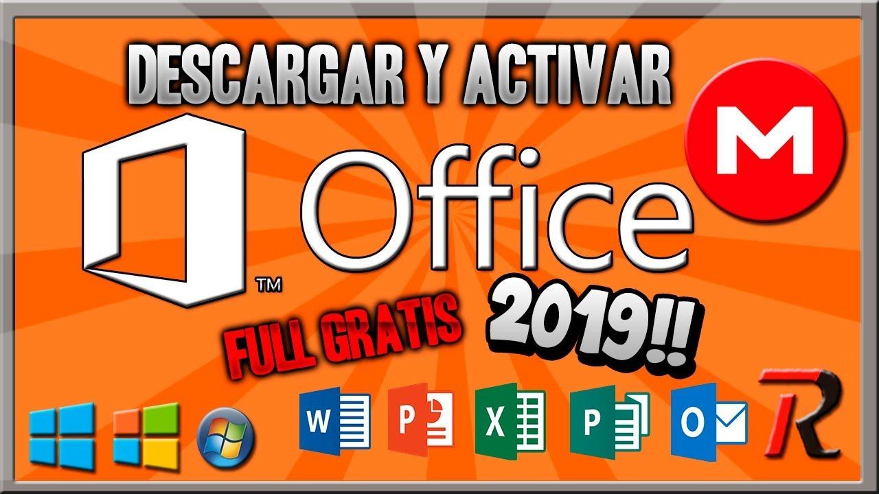 descargar office 2018 full español activador noviembre 32 y 64