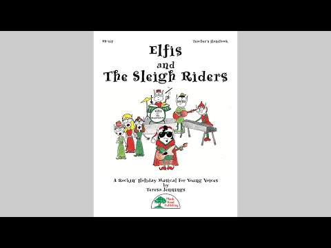 Elfis and The Sleigh Riders holiday musical from MusicK8.com