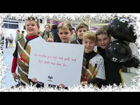 Ospreys Advent Calendar Day 14 - All I want for Christmas