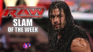 The Shield Stands Together - WWE Raw Slam of the Week 3/10