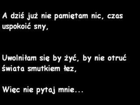 Karaoke- Edyta Górniak-List.