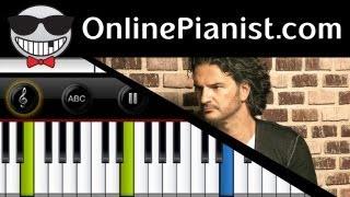 Ricardo Arjona ft. Gaby Moreno - Fuiste Tu (It Was You) - Tutorial de Piano