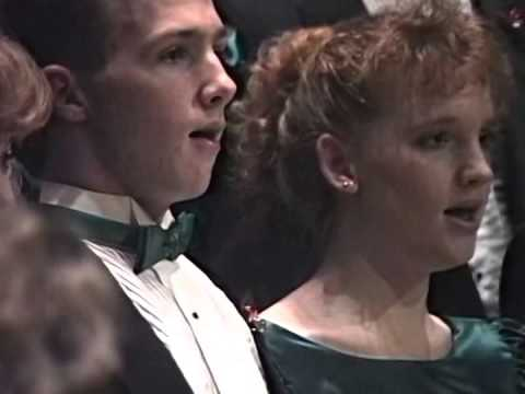 Mary's Lullaby - Woods Cross High School Madrigals - Christmas 1989