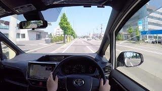 【Test Drive】 2017 New Toyota NOAH 2.0L 4WD - POV City Drive