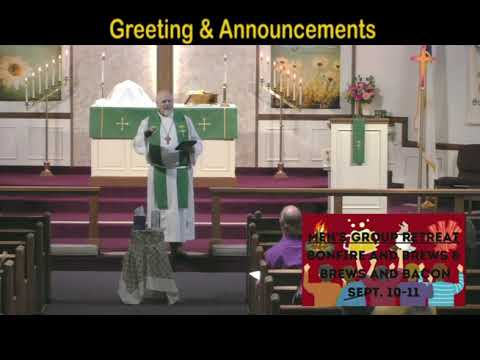 St  Trinity Ev  Lutheran Church Service September 5, 2021