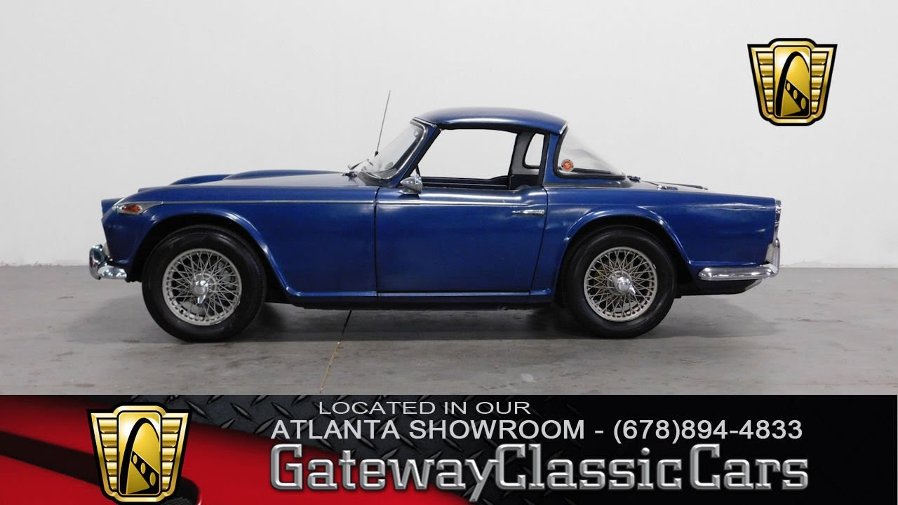 1966 Triumph Tr4 A Gateway Classic Cars Of Atlanta 252 Youtube