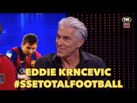 Eddie Krncevic on Total Football
