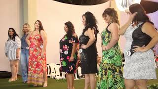 Desfile miss plus size 2018