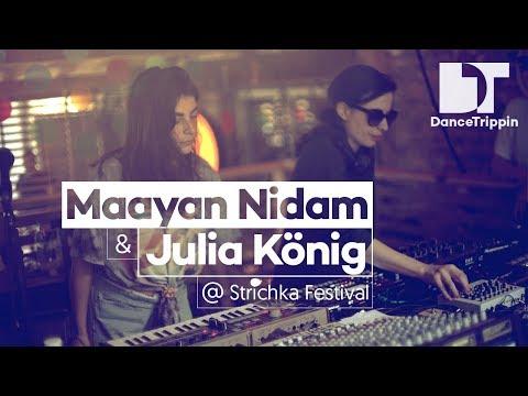 Maayan Nidam & Julia König (LIVE) at Strichka Festival, Kyiv (Ukraine)