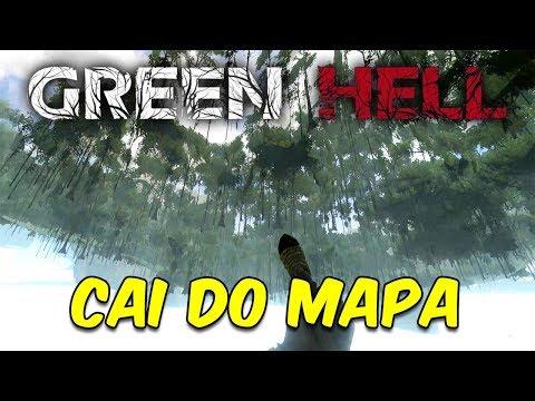 EXPLORANDO A TERRA DO ELEVADOR E CAINDO DO MAPA | Green Hell #11
