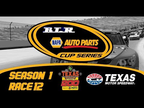 BLR Napa Auto Parts Cup Series-[S1,R12,Round Of 16]-Texas Roadhouse 200