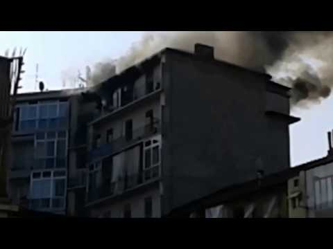 Incendio a Torino (Fire in Turin)