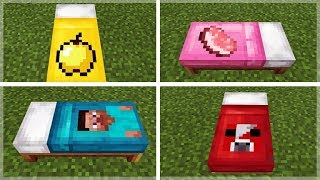 HOW TO MAKE CUSTOM MINECRAFT BED SHEETS!! (Addon Creation)