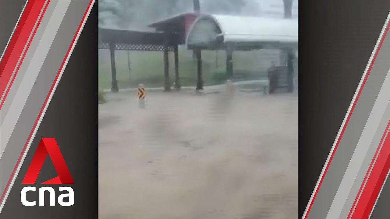 (SINGAPORE, November 2019) Jurong East, Choa Chu Kang hit by flash floods due to heavy rain: PUB