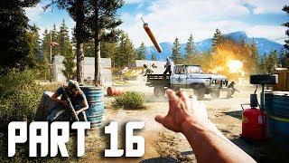 Far Cry 5 Gameplay Walkthrough Part 16 - FAILS - FULL GAME PS4 PRO!
