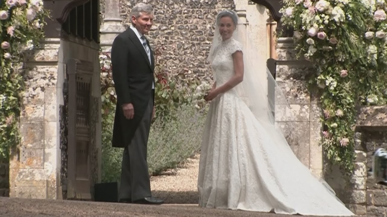 Pippa Middleton Was Radiant The Duchess Wore Mcqueen What Kate