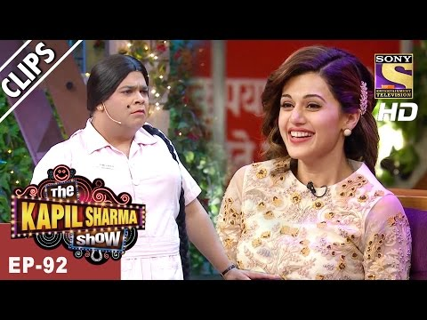 Manoj and Taapsee have a great time with Bumper - The Kapil Sharma Show - 25th Mar, 2017