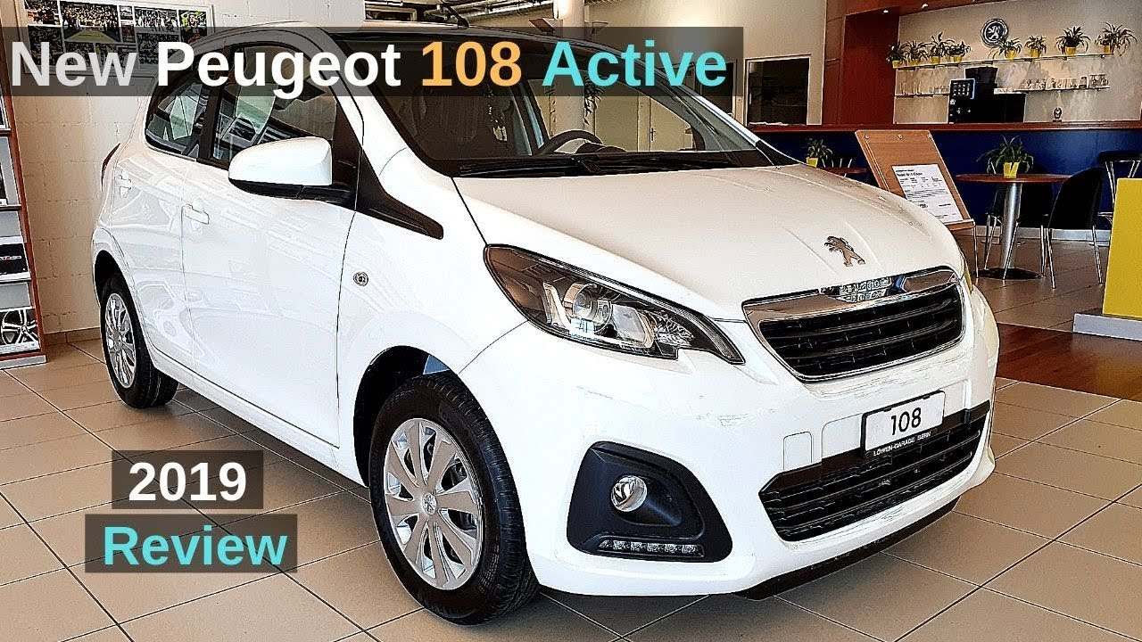 New Peugeot 108 Active 2019 Review Interior Exterior Youtube