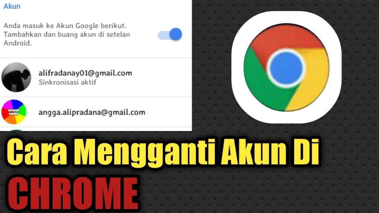 Cara Mengganti Akun Di Google Chrome Youtube