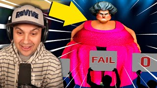 I Made Hello Neighbor's Sister REALLY REALLY FAT! | Scary Teacher 3D