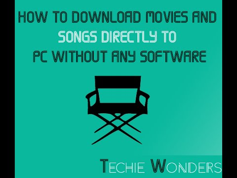 How to download hollywood & bollywood hd movies without any.