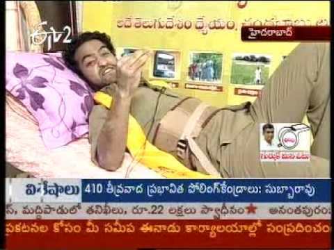 Jr Ntr speech on Election Special live - 1