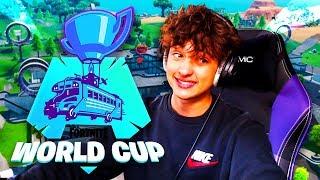 JE FAIS LA WORLD CUP AVEC UN ABONNÉ PARCE QUE LEBOUSEUH EST MALADE ! FORTNITE BATTLE ROYALE