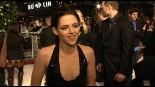 Kristen Stewart interview on the sex scene in The Twilight Saga: Breaking Dawn - Part 1