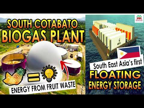 GOOD NEWS!! BIOGAS PLANT IN SOUTH COTABATO AND FLOATING ENERGY STORAGE PROJECT