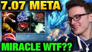 Miracle- Winter Wyvern SUPER CARRY 7.07 META Dota 2 Dueling Fates