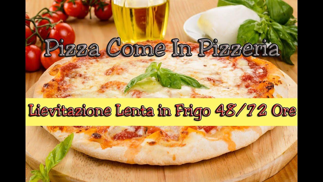 Pizza fatta in casa come in pizzeria lunga lievitazione for Pizza in casa