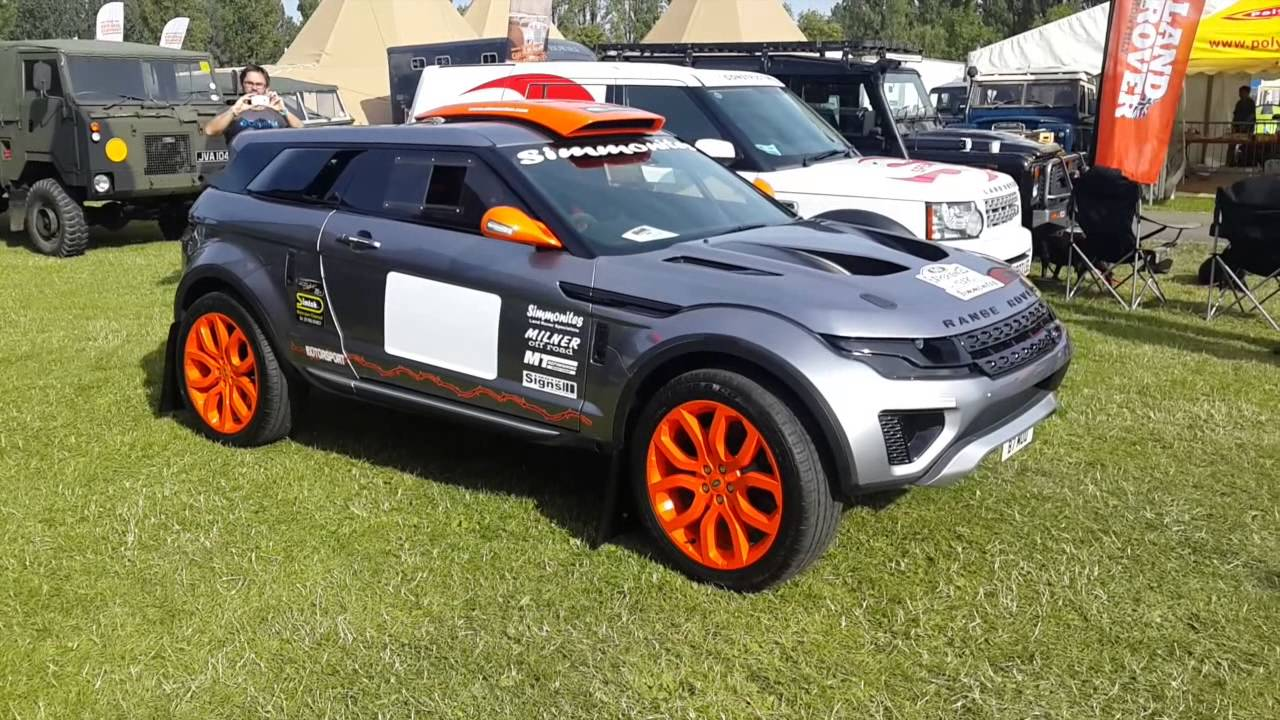 race retro 2015 range rover evoque lrm1 milner off road racing youtube. Black Bedroom Furniture Sets. Home Design Ideas
