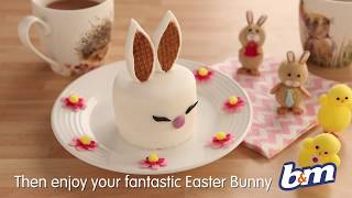 How to Make Easter Bunny Cakes | B&M Stores