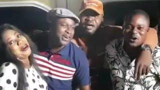 Gambar cover Femi Adebayo, Esther Kalejaye sing to celebrate Mama Rainbow's birthday